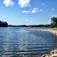 Photo taken at Lake Ahquabi State Park by Erik R. on 7/27/2012