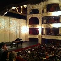 Photo taken at Teatro Municipal de Santiago by Daniela on 8/20/2012
