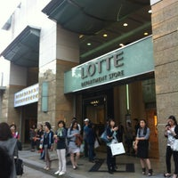 Photo taken at LOTTE Department Store by GG on 5/18/2012