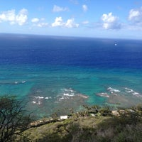 Photo taken at Diamond Head State Monument by Andrea K. on 3/15/2012