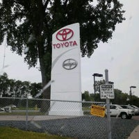 Photo taken at Maplewood Toyota by Annie H. on 6/13/2012