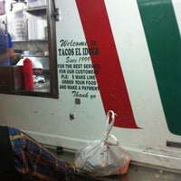Photo taken at Tacos El Idolo by Norris R. on 5/4/2012