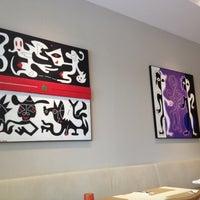 Photo taken at Aria Cucina Italiana by Clarissa C. on 3/14/2012