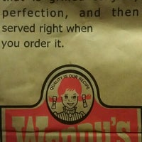 Photo taken at Wendy's by Ally L. on 3/13/2012