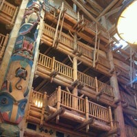 Photo taken at Disney's Wilderness Lodge by Katie S. on 7/23/2012