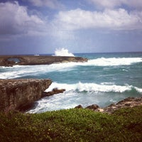 Photo taken at Laie Point by Mike on 3/31/2012