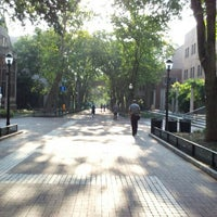 Photo taken at Locust Walk by Michael W. on 8/31/2012