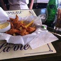 Photo taken at Cafe La Vie by Ezgi T. on 6/25/2012