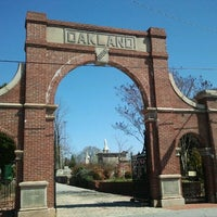 Photo taken at Oakland Cemetery by The Joy Writer J. on 3/10/2012