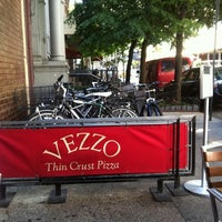 Photo taken at Vezzo Thin Crust Pizza by Jamie C. on 5/19/2012
