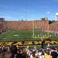 Photo taken at Kinnick Stadium by Joe H. on 9/8/2012