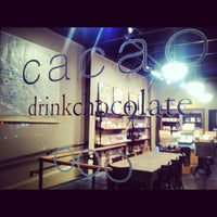 Photo taken at Cacao Drink Chocolate by Richard K. on 9/9/2012