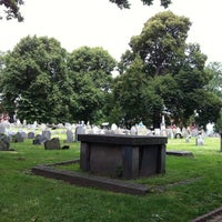Photo taken at Copp's Hill Burying Ground by Timothy S. on 8/12/2012