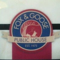 Photo taken at Fox & Goose Public House by John S. on 4/3/2012