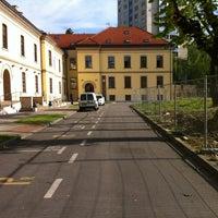 Photo taken at Visoko učilište Algebra by Saša T. on 4/20/2012