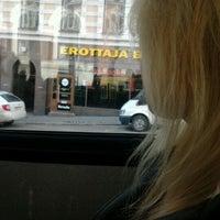 Photo taken at HSL Raitiolinja 10 by Satu L. on 3/28/2012