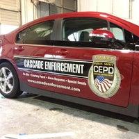 Photo taken at Cascade Enforcement Agency by Blake J. on 4/4/2012