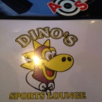 Photo taken at Dino's Sports Lounge by Allison C. on 4/28/2012
