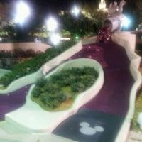 Photo taken at Fantasia Gardens Miniature Golf by Bryan M. on 3/3/2012