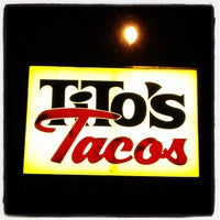 Photo taken at Tito's Tacos by Jon F. on 2/23/2012