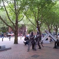 Photo taken at Occidental Square by Ágnes U. on 7/27/2012