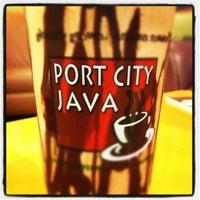 Photo taken at Port City Java by Josh P. on 5/2/2012