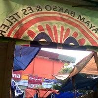 Photo taken at Mie ayam bakso AA cab pasar anyar by Anwar F. on 8/23/2012