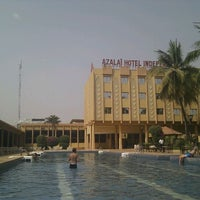 Photo taken at Azalai Hotel Independance Ouagadougou by Neil H. on 2/19/2012