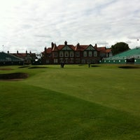 Photo taken at Royal Lytham & St. Annes Golf Club by George H. on 7/14/2012