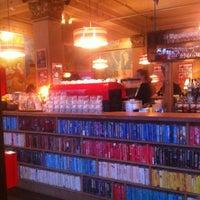 Photo taken at The Laundromat Café by Sigríður M. on 2/18/2012