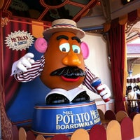 Photo taken at Toy Story Midway Mania! by Nathan K. on 3/13/2012