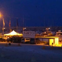 Photo taken at Porto di Leuca by Simone S. on 8/10/2012