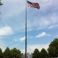 Photo taken at Liberty Island by Shaun H. on 7/5/2012
