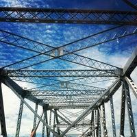 Photo taken at Tappan Zee Bridge by Rebecca B. on 7/21/2012