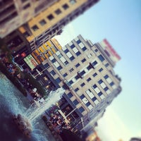 Photo taken at Piazza San Babila by Antonio M. on 9/9/2012