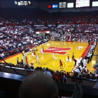 Photo taken at Bob Devaney Sports Center by Larry B. on 2/26/2012