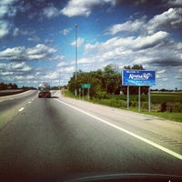 Photo taken at Kentucky / Tennessee State Line by Christian H. on 9/9/2012