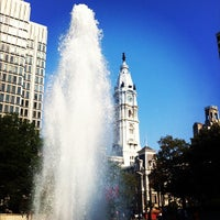 Photo taken at JFK Plaza / Love Park by Jacqui B. on 7/18/2012