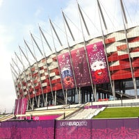 Photo taken at PGE Narodowy by Radek G. on 6/21/2012