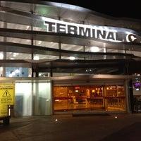 Photo taken at Terminal C by Jorge B. on 8/22/2012