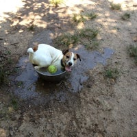 Photo taken at Oakhurst Dog Park by Peter F. on 6/17/2012
