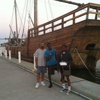 Photo taken at Corpus Christi Bay by Alice B. on 6/23/2012
