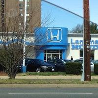 Photo taken at Landmark Honda by Derek B. on 3/3/2012