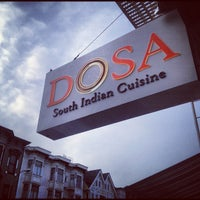 Photo taken at Dosa by David C. on 3/20/2012