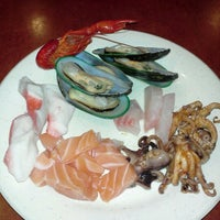 Photo taken at KoyWan Hibachi Buffet by Blake B. on 7/16/2012