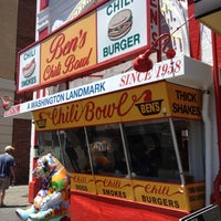Photo taken at Ben's Chili Bowl by Michael O. on 6/2/2012