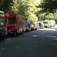 Photo taken at Food Truck Friday @ Tower Grove Park by Young & Free S. on 8/10/2012