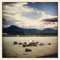 Photo taken at Salzburg Airport W. A. Mozart (SZG) by Anastasia L. on 5/21/2012