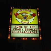 Photo taken at The Wiener's Circle by Mervin M. on 9/11/2012