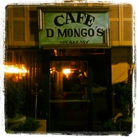 Photo taken at Cafe d'Mongo's by Karen F. on 4/28/2012